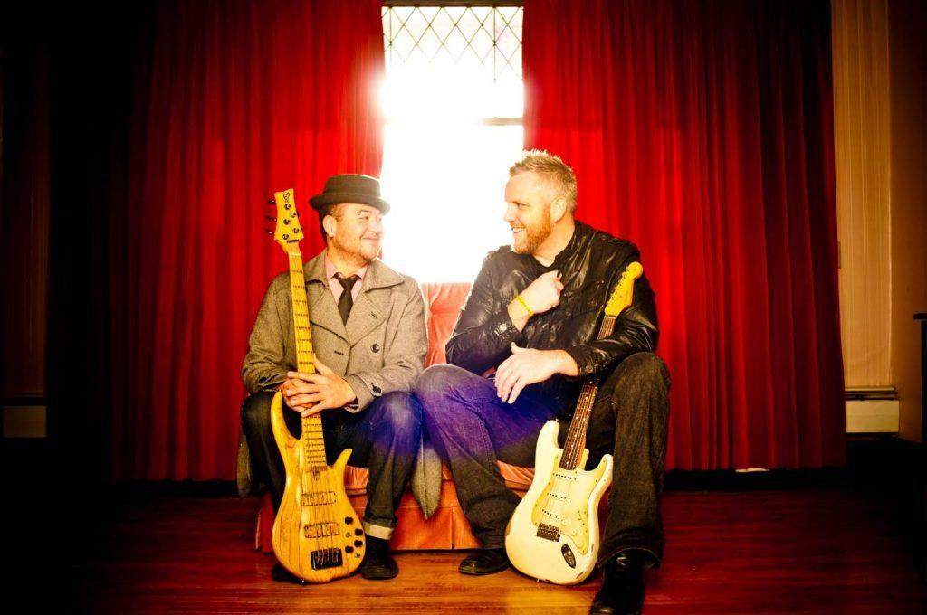 Brett Tyler and Jory Kinjo