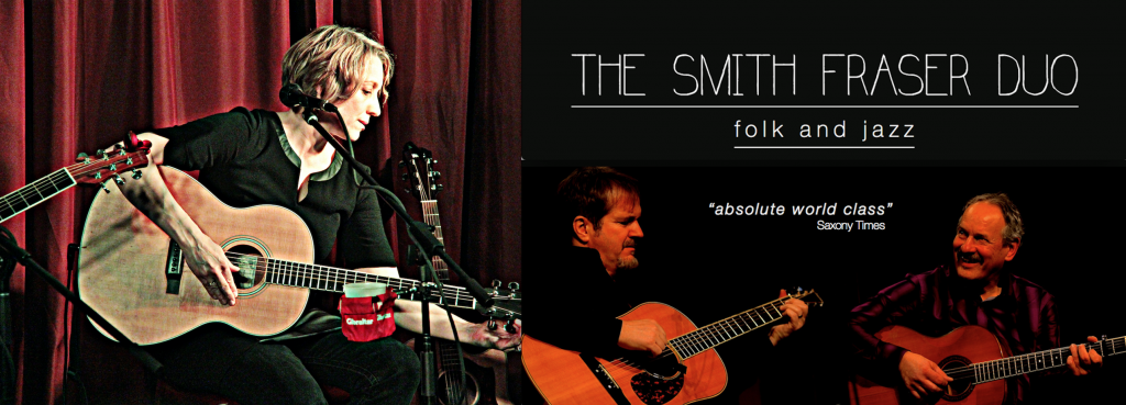 Carolyn Anele (left) and the Smith Fraser Duo (right)
