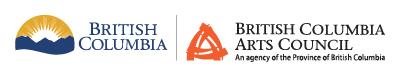 BC arts council sponsor logo
