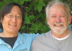 photograph of Mark Nishihara and John Lent