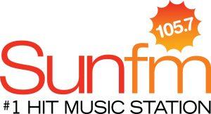 Sun FM radio station logo.