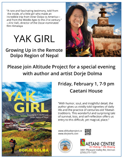 Yak Girl Mixed-media Presentation