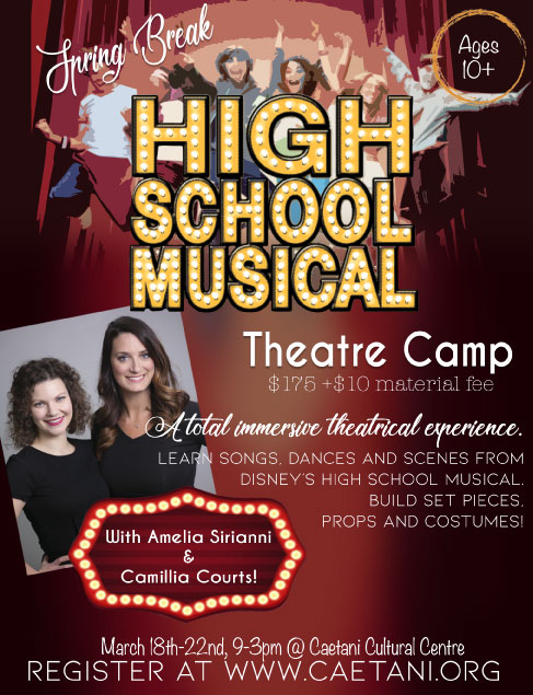 Spring Break Drama Camp 2019