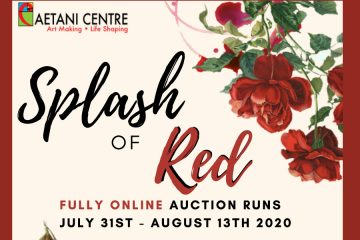 Splash of Red Chairty Auction Caetani Centre 2020